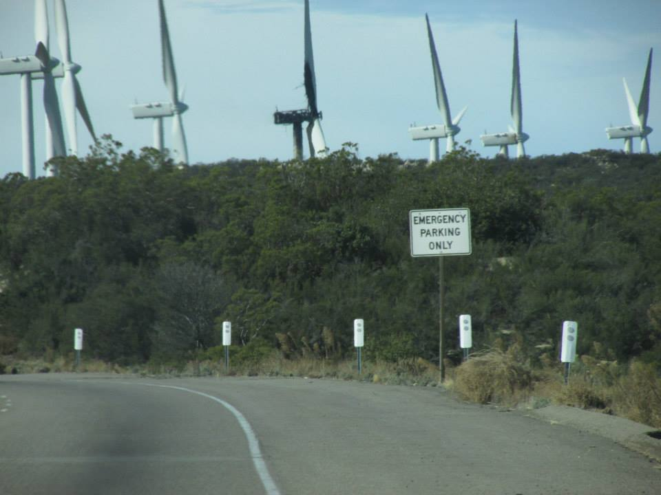 The Kumeyaay Wind Project on the Interstate 8 (Click on image to enlarge)  - Parke Ewing photo