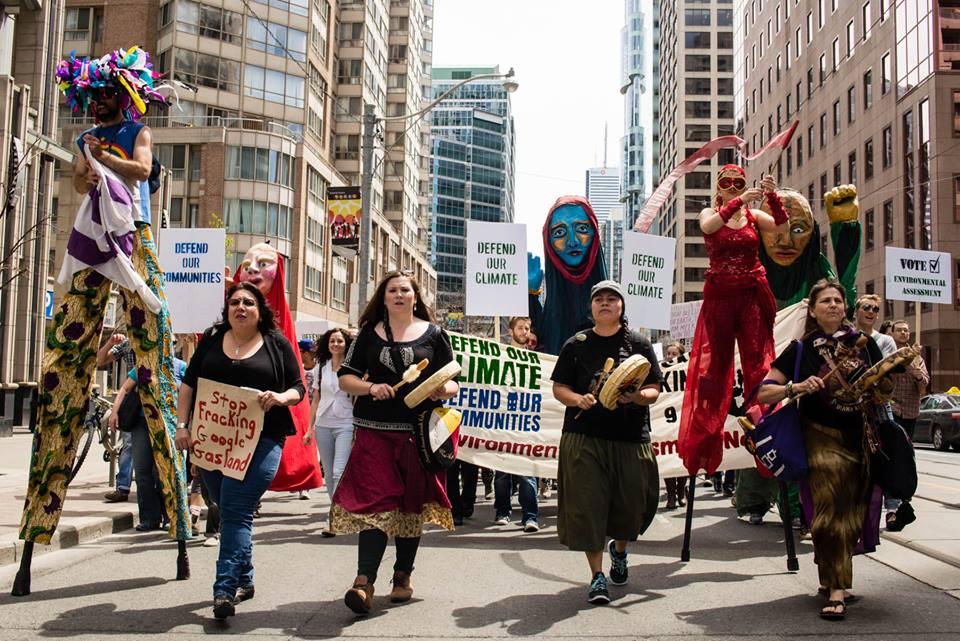 May 10 Rally in Toronto - courtesy Kevin Konnyu