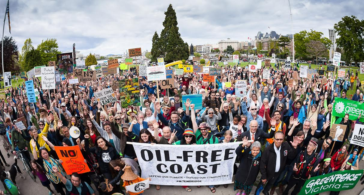 Defend our Climate Rally in Victoria - TJ Watt photo
