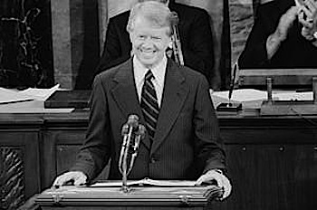 JImmy Carter speaking about the potential of Solar Energy in 1978