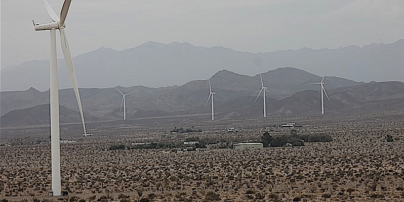 Photo Credit: WInd Turbines Surrounding Ocotillo, CA by Jim Pelley