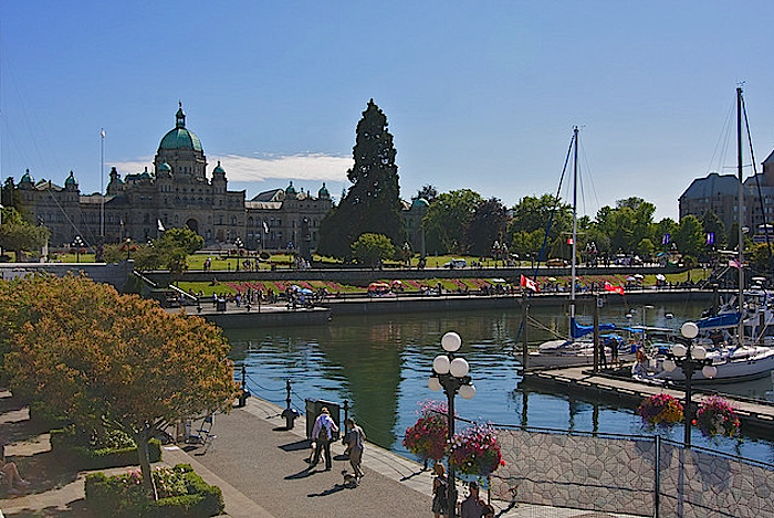 Photo Credit: B.C. Parliament and Inner Harbour by Brian Holsclaw, via Flickr (CC By Sa, 2.o License)