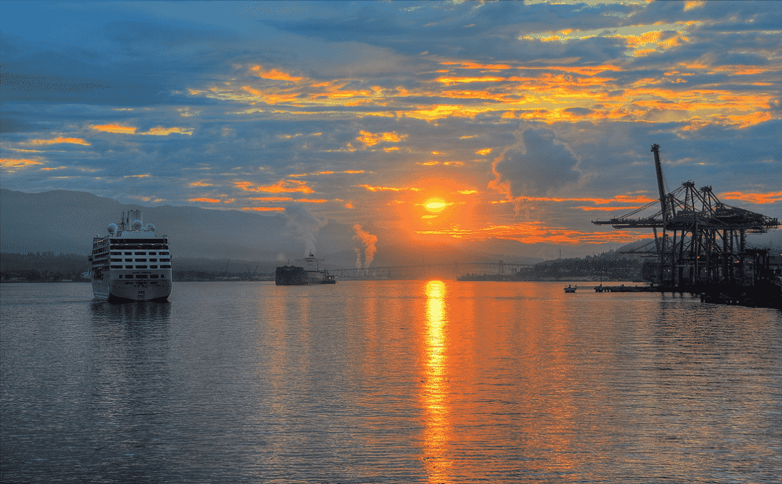 Photo Credit: Sunrise Shipping by tdlucas5000 via Flickr (CC BY SA, 2.0 License)