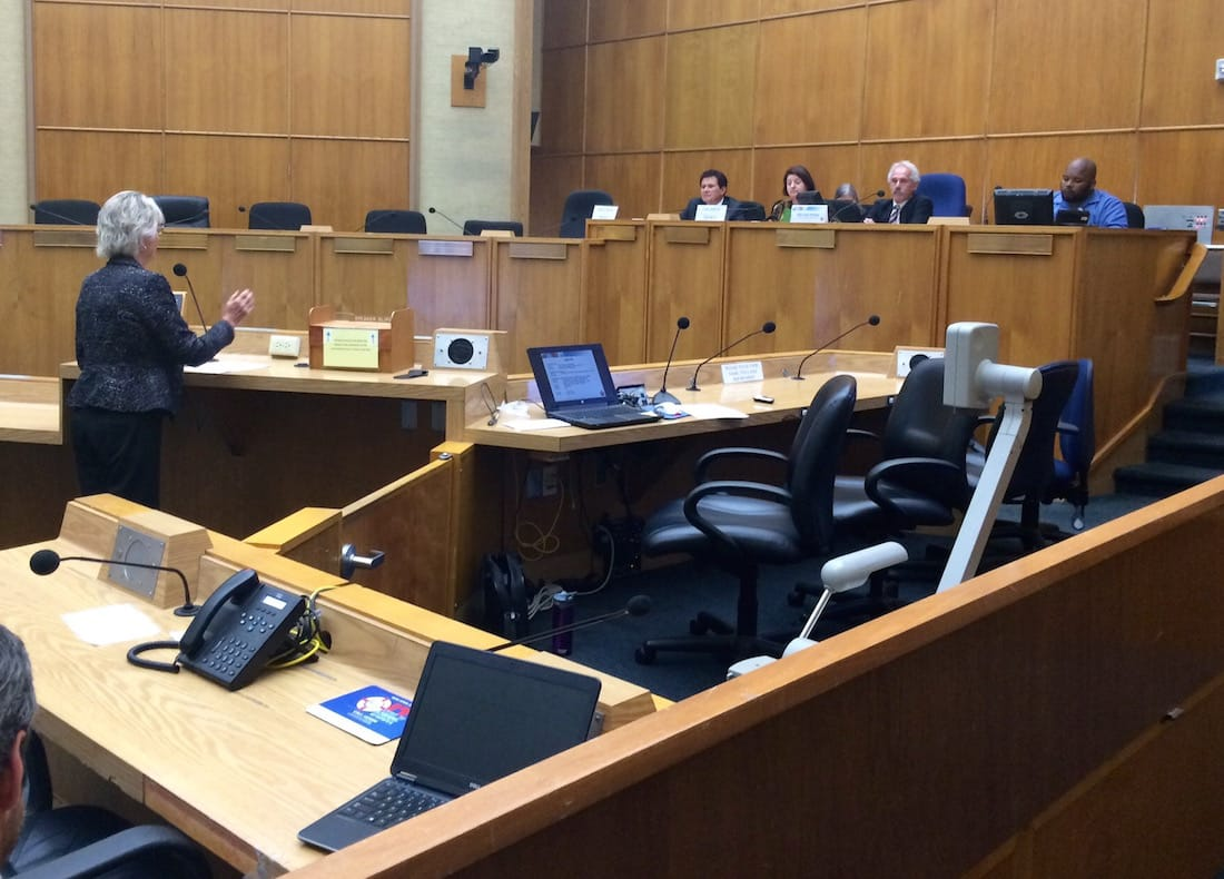 Supervisor Dianne Jacob Testifying before the CPUC on October 28