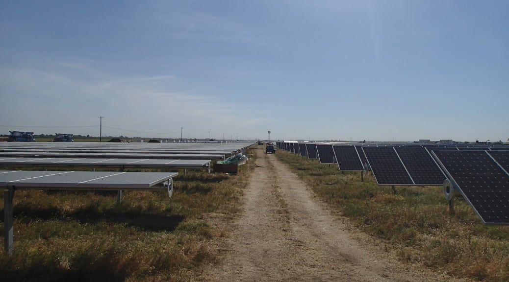 The Installation in Yolo County, Courtesy Yolo County General Services