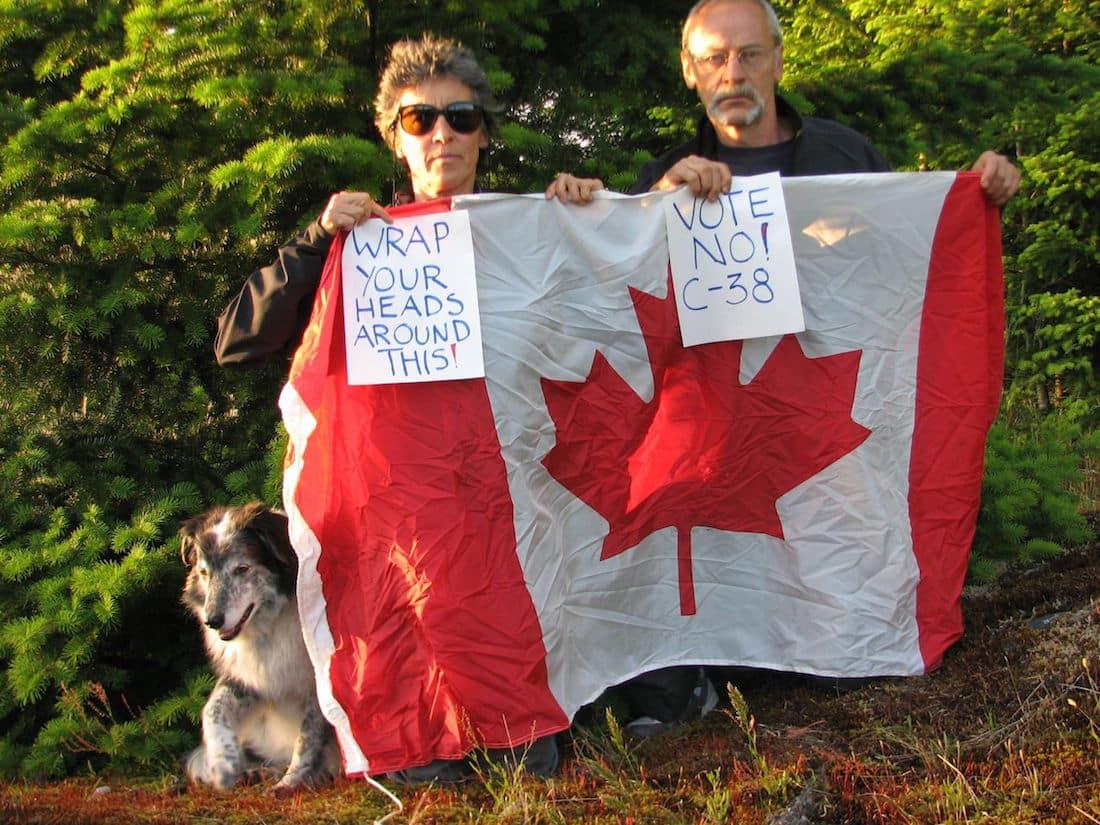 Bill C-38 from Leadnow Canada via Flickr (CC BY Sa, 2.0 License)
