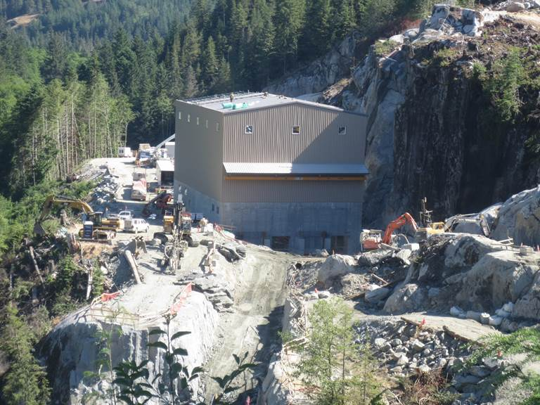 Jimmy Creek's Powerhouse - Courtesy Alterra Power