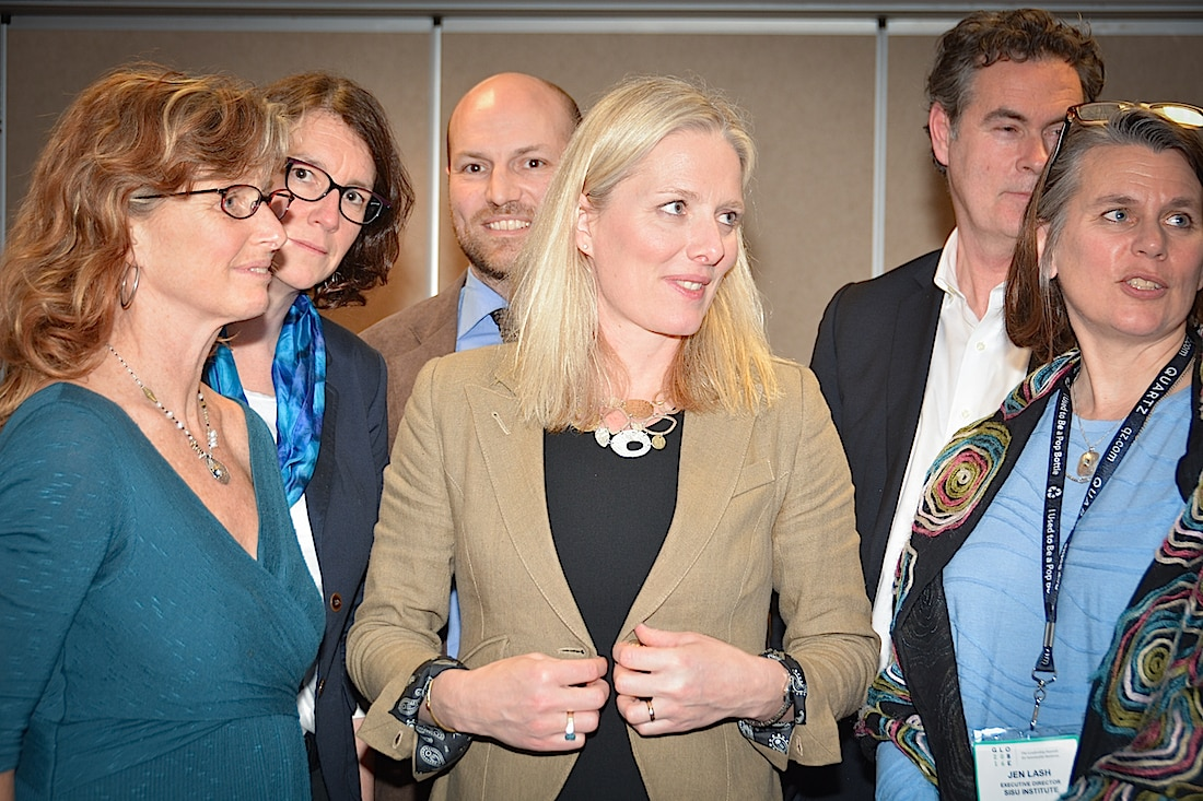 ENGO roundtable with Minister of Environment and Climate Change Catherine McKenna in Vancouver, B.C. March 3, 2016. Photo: Stephen Hui, Pembina Institute via Flickr (CC BY SA, 2.0 License). http://www.pembina.org/ http://www.instagram.com/pembinainstitute/