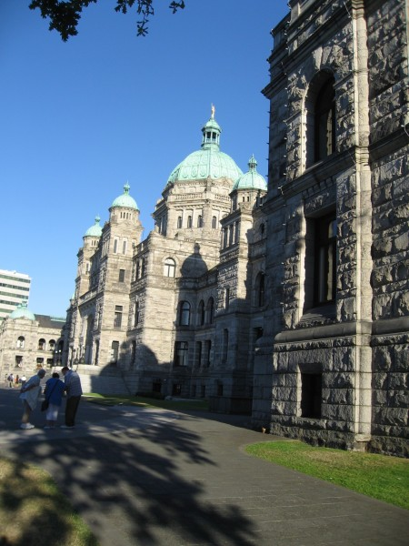 The Provincial Legislature in Victoria - Roy L hales Photo