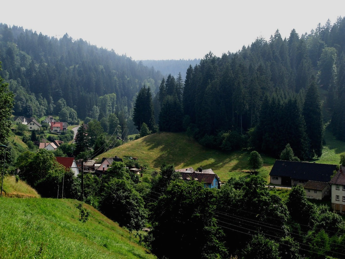 View from Freudenstadt In the Black Forest by Caitriana Nicholson via Flickr (CC BY SA, 2.0 License)