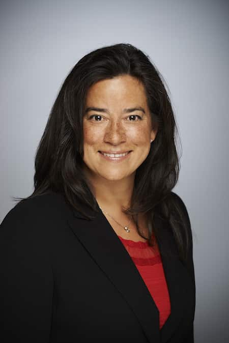 Jody Wilson-Raybould, Canada's Minister of Justice, by Erich Saide via Wikipedia (CC BY SA, 3.0 License)