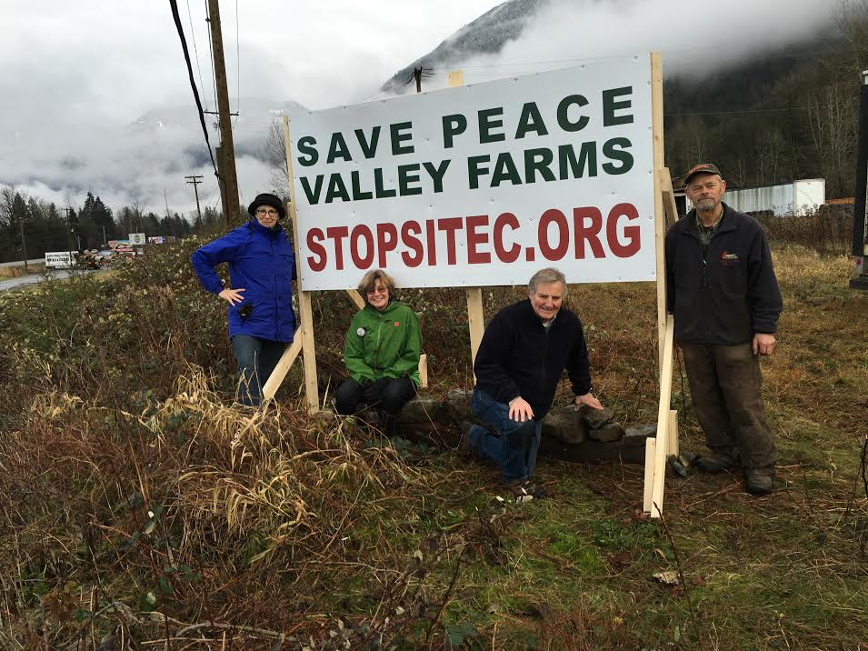 Peace River Valley Residents - Courtesy Sierra Club BC