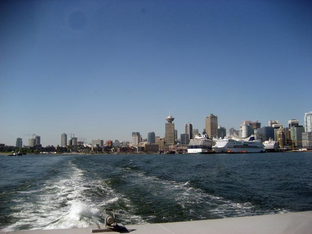 View of Vancouver from the Seabus by Kimba Howard via Flickr (CC BY SA, 2.0 License)