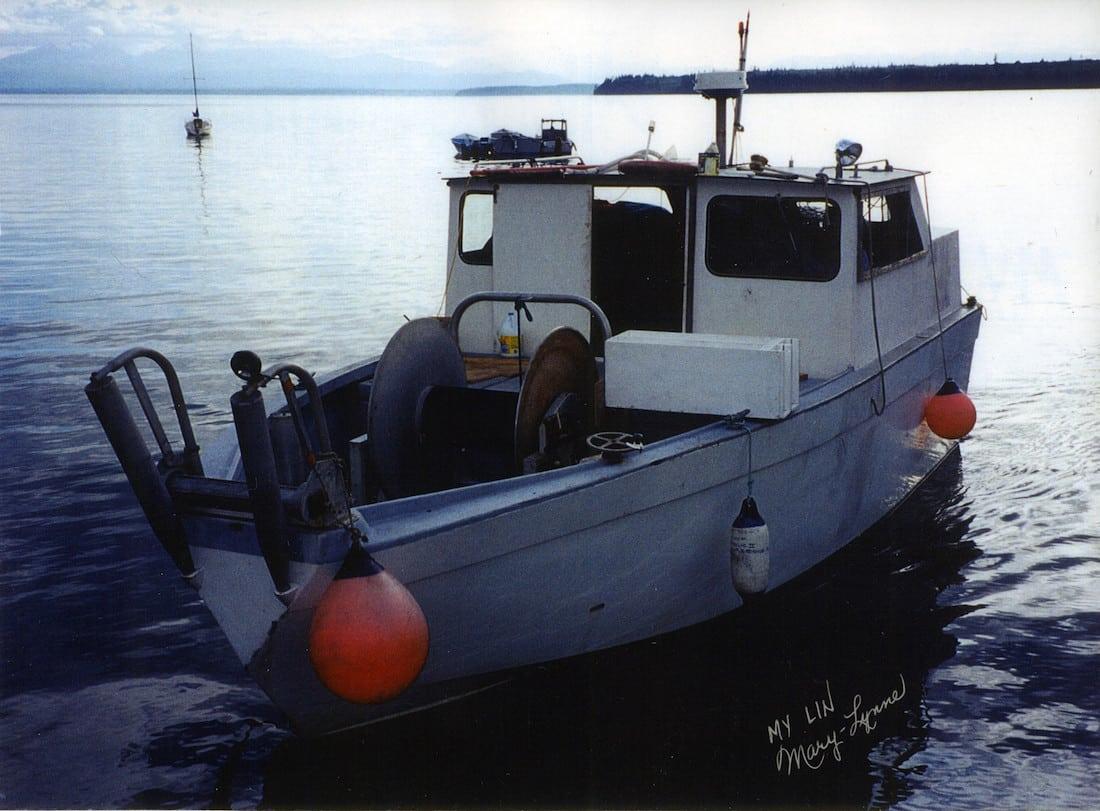 "Joe Jordan's last boat, ""Lil Bit"" - courtesy of Joe & Lynne Jordan"