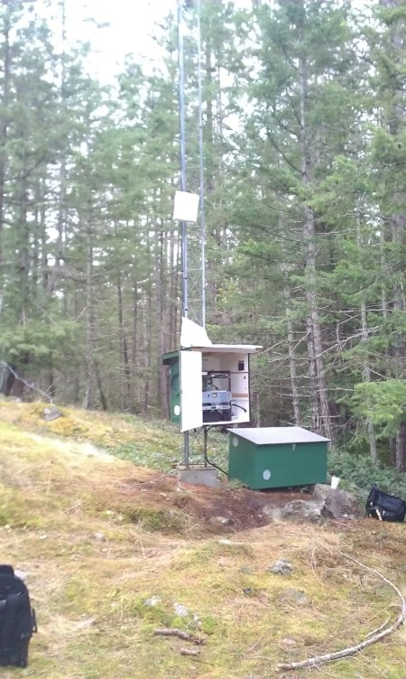 Cortes Community Radio tower