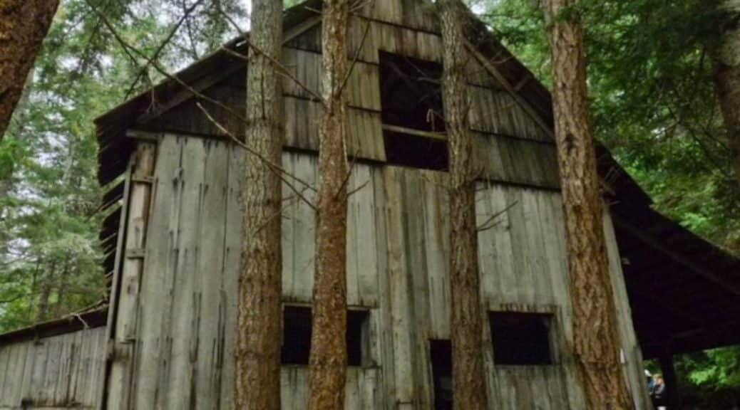 John Manson's barn