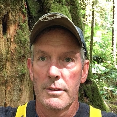 Michael Manson, who told me his family's Cortes Island Story - Courtesy Donna Manson