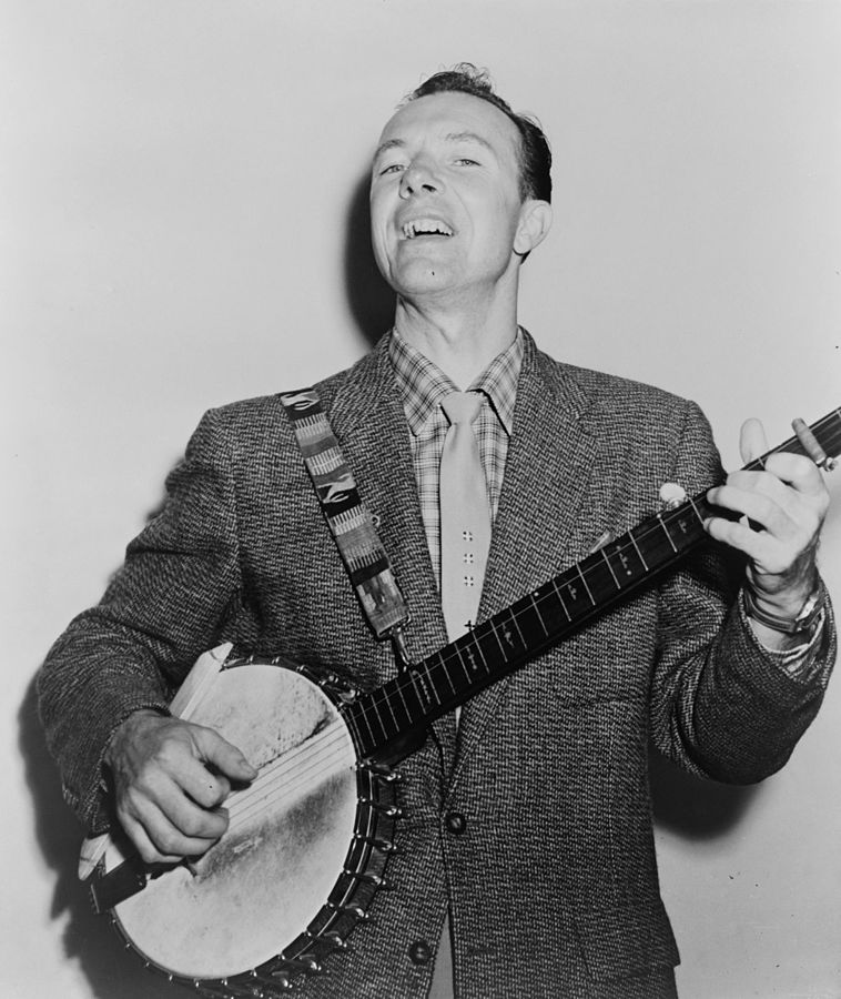 Pete Seeger by Fred Palumbo, World Telegram staff