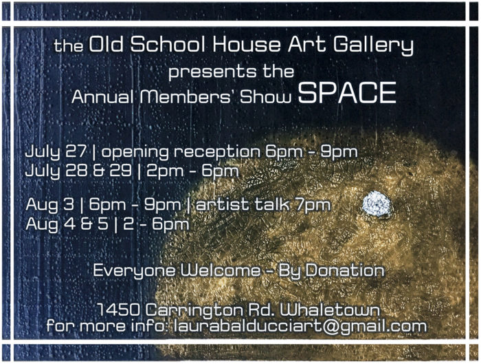 SPACE Members Show Opening