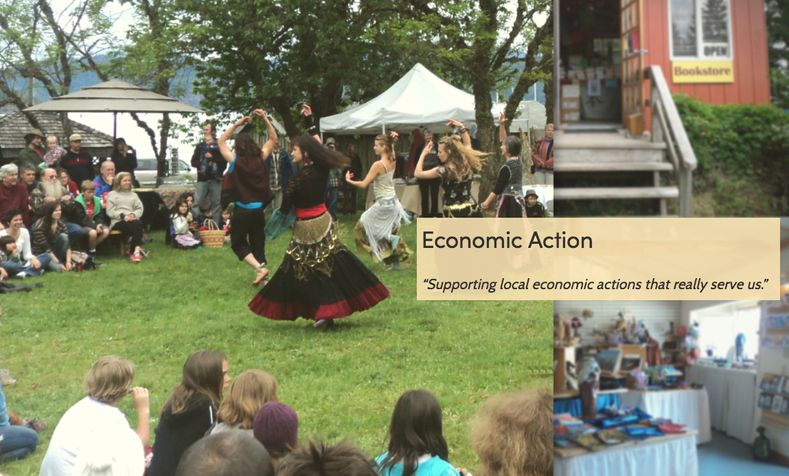 Why Re-elect Noba Anderson? - Economic Action - Courtesy Noba Anderson.ca