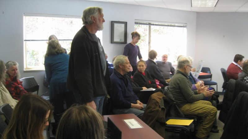 Cortes Island has a strong sense of community and may be ready for Noba's vision for Cortes Island's political future.