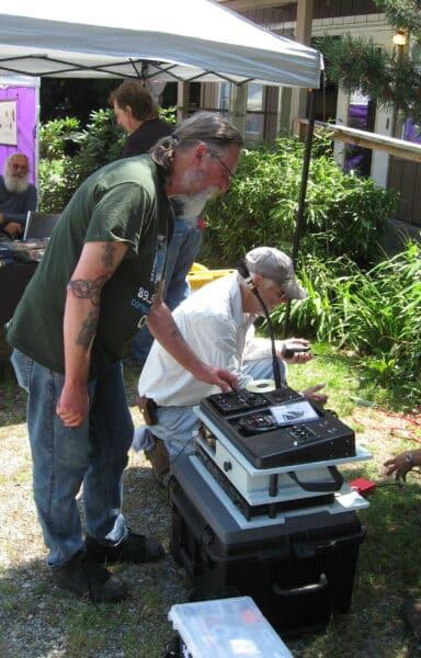 First successful radio in a box test