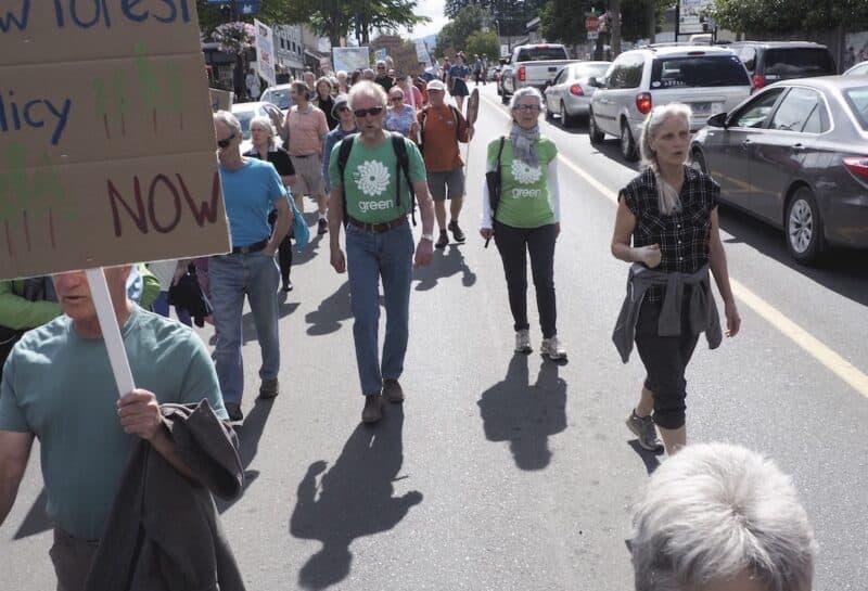 Mark de Bruijn, Green candidate for Powell River - North Island