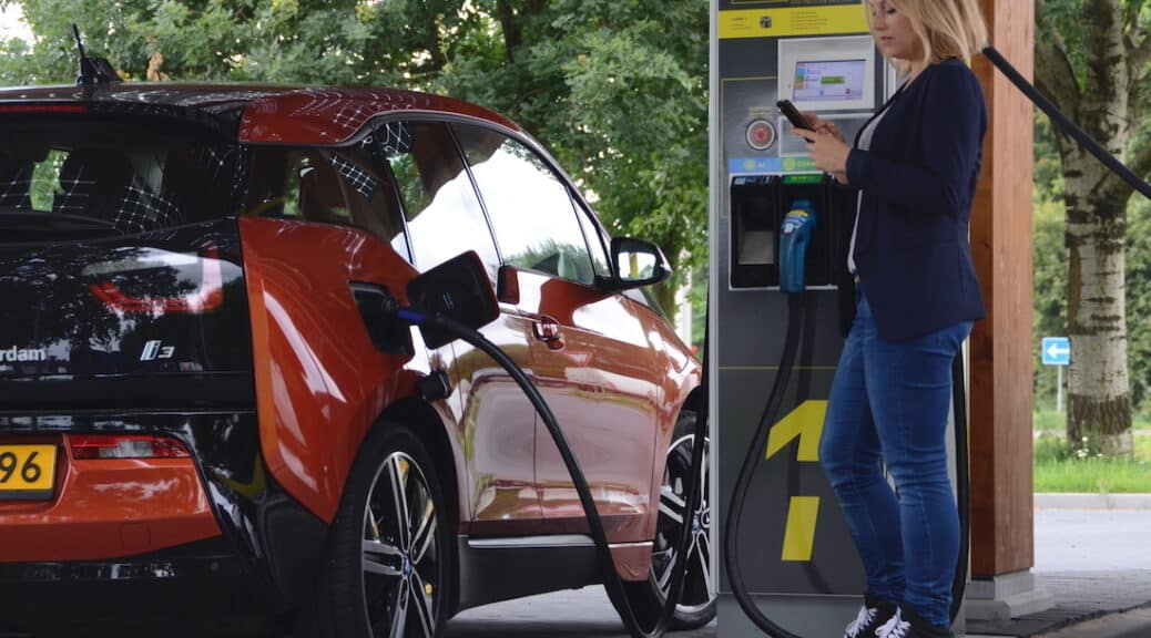 Germany's First Fastned EV Fast Charging Stations