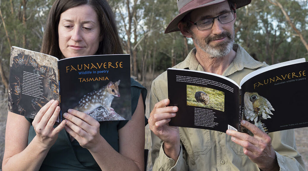 Alex & Jane Dudley's Deep Ecological Knowledge, Quirky Poetry & Stunning Photography Of the Australian Bush