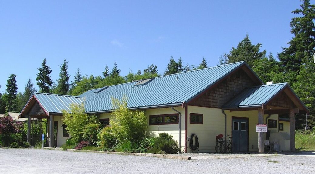 Cortes Island's Augmented Homew SUpport Program operates out of the Cortes Health Centre