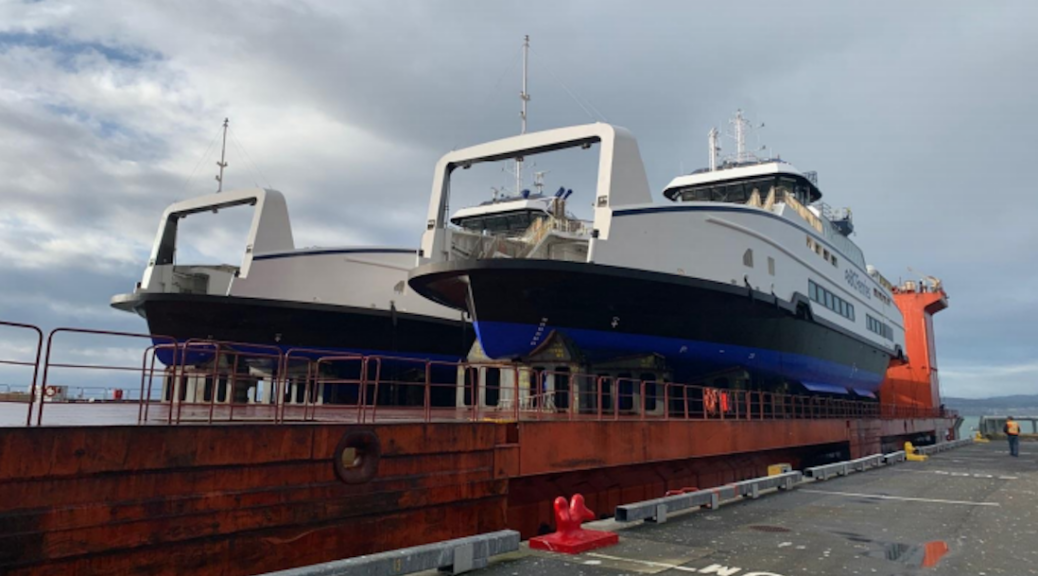 BC='s new e-Ferries