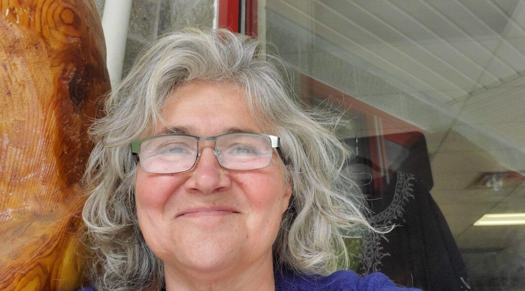 Francesca Gesualdi, host of I-Read