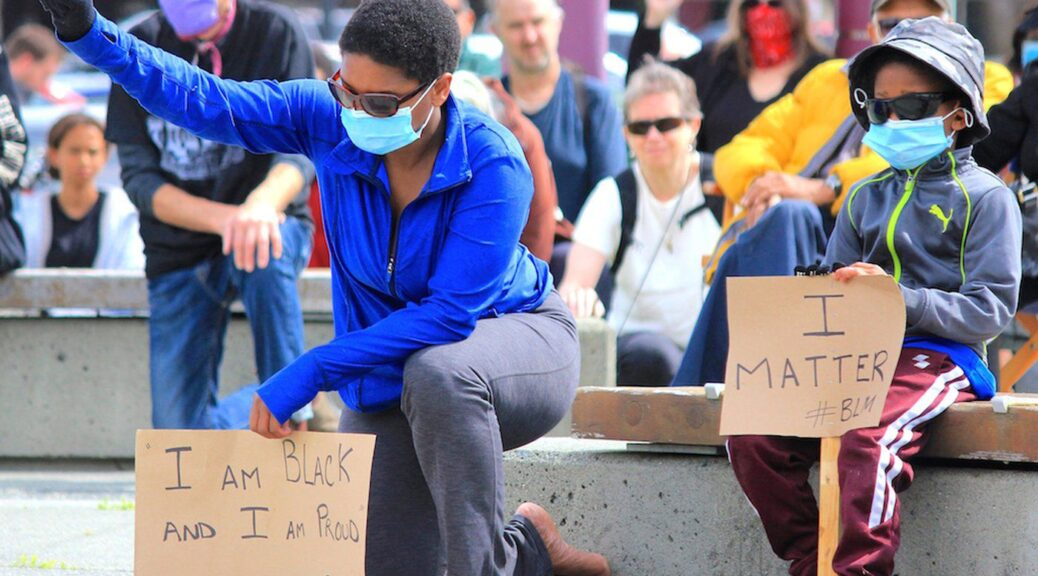 Campbell River's Black Lives Matter