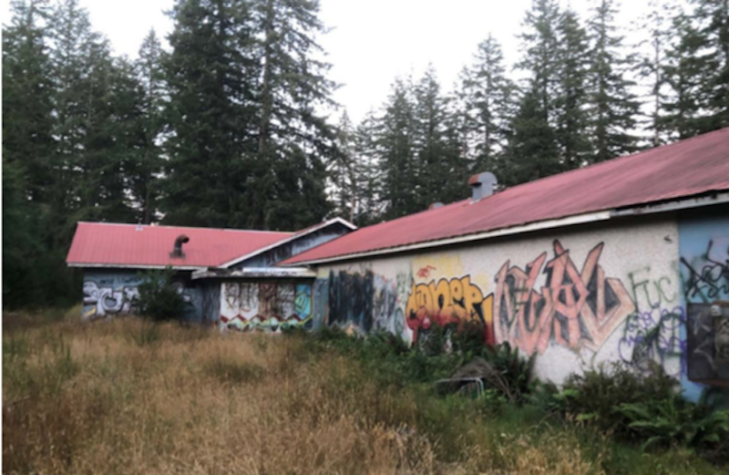 Campbell River's homeless camp