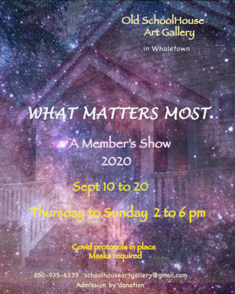 The exhibition: What Matters Most
