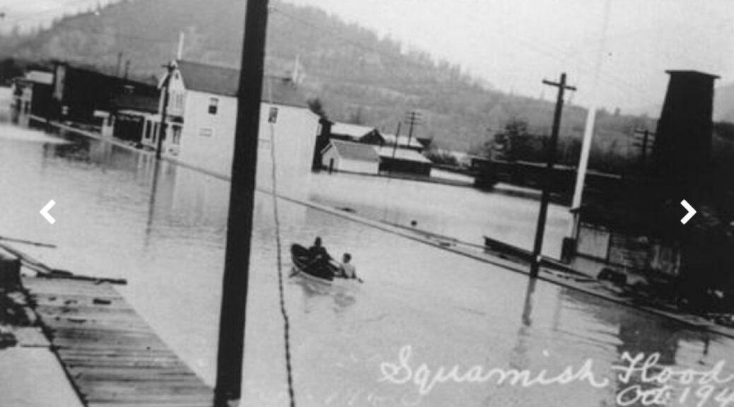 Squamish Nation's Great Flood