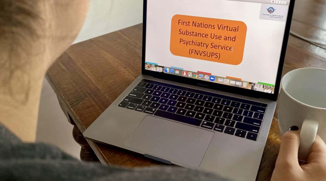 Accessing mental wellness and substance use support online.