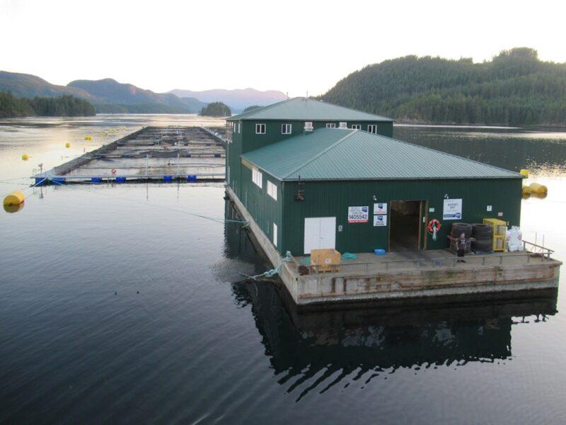 Fish farms