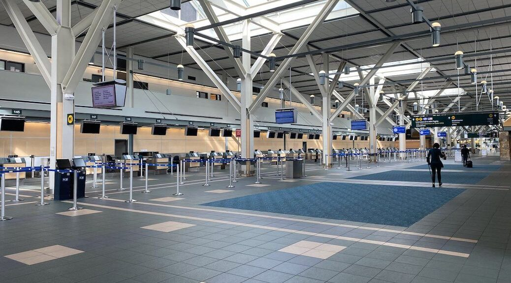 Vancouve International Airpost COVID testing