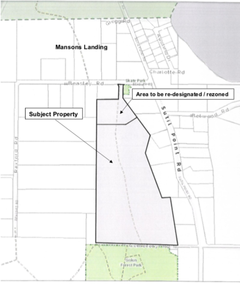 Rainbow Ridge rezoning application