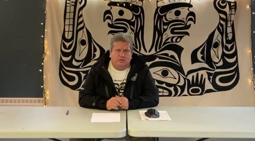 Elected and hereditary chief of the 'Namgis Nation Don Svanvik announced Dec. 14 there is one confirmed COVID-19 case in Alert Bay on Cormorant Island.
