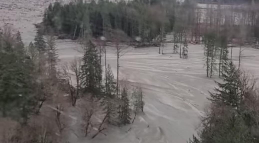 Bute inlet landslide