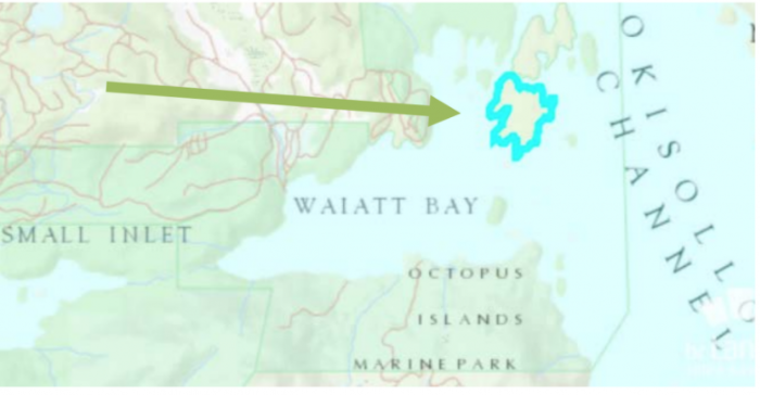 1.5 million expansion of the Octopus Islands Marine Park