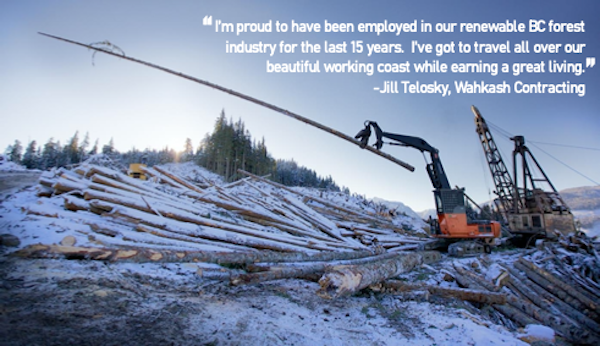One of the three pillars: Campbell River's Forestry sector