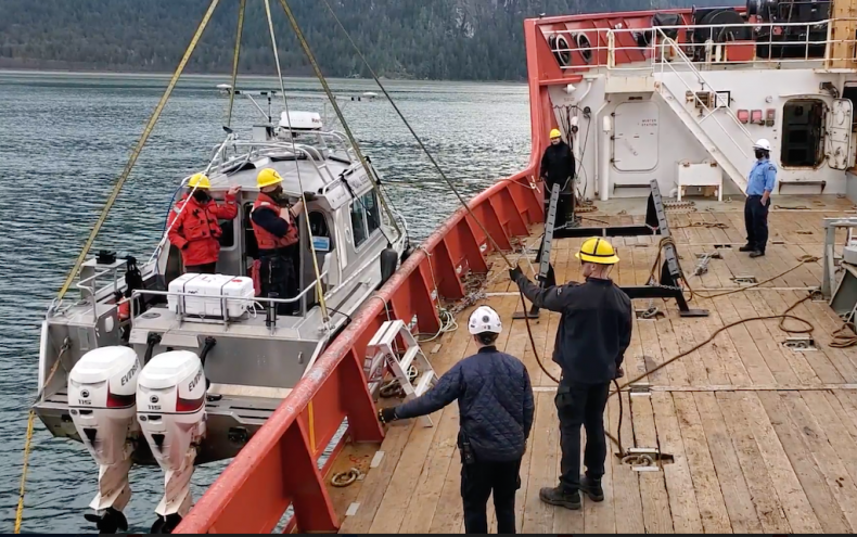 Impacts of the Bute Inlet Slide