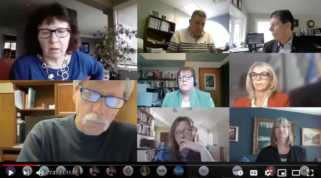 Feb 10, 2021, SRD Board meeting