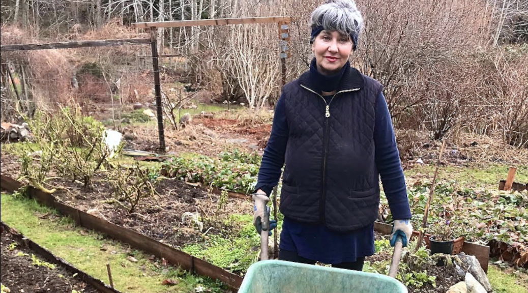 Lucretia Schanfarber wants to establish a garden where global change is driven by local green thumbs.