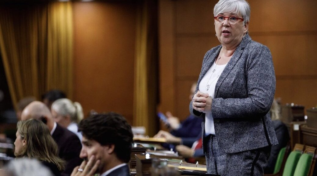 Federal Fisheries Minister Bernadette Jordan (above) must now review three applications from fish farms to allow them to restock sites in the Discovery Islands.