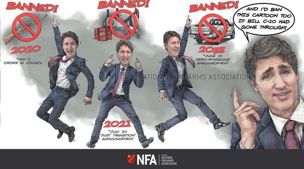 Canada's National Firearms Association is running Facebook ads targeting Justin Trudeau to try to unseat the Liberal government.